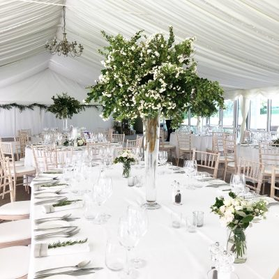 Marquee Wedding Flowers