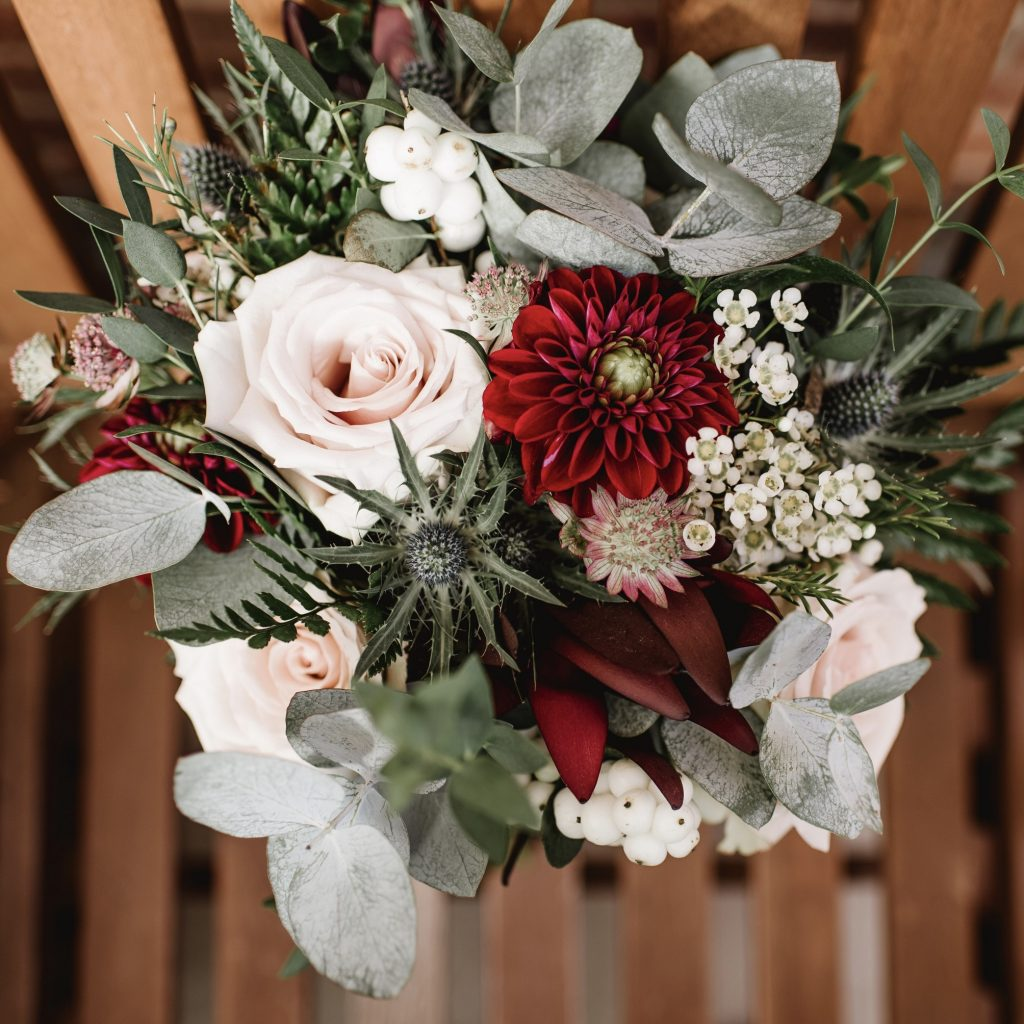 September wedding flowers