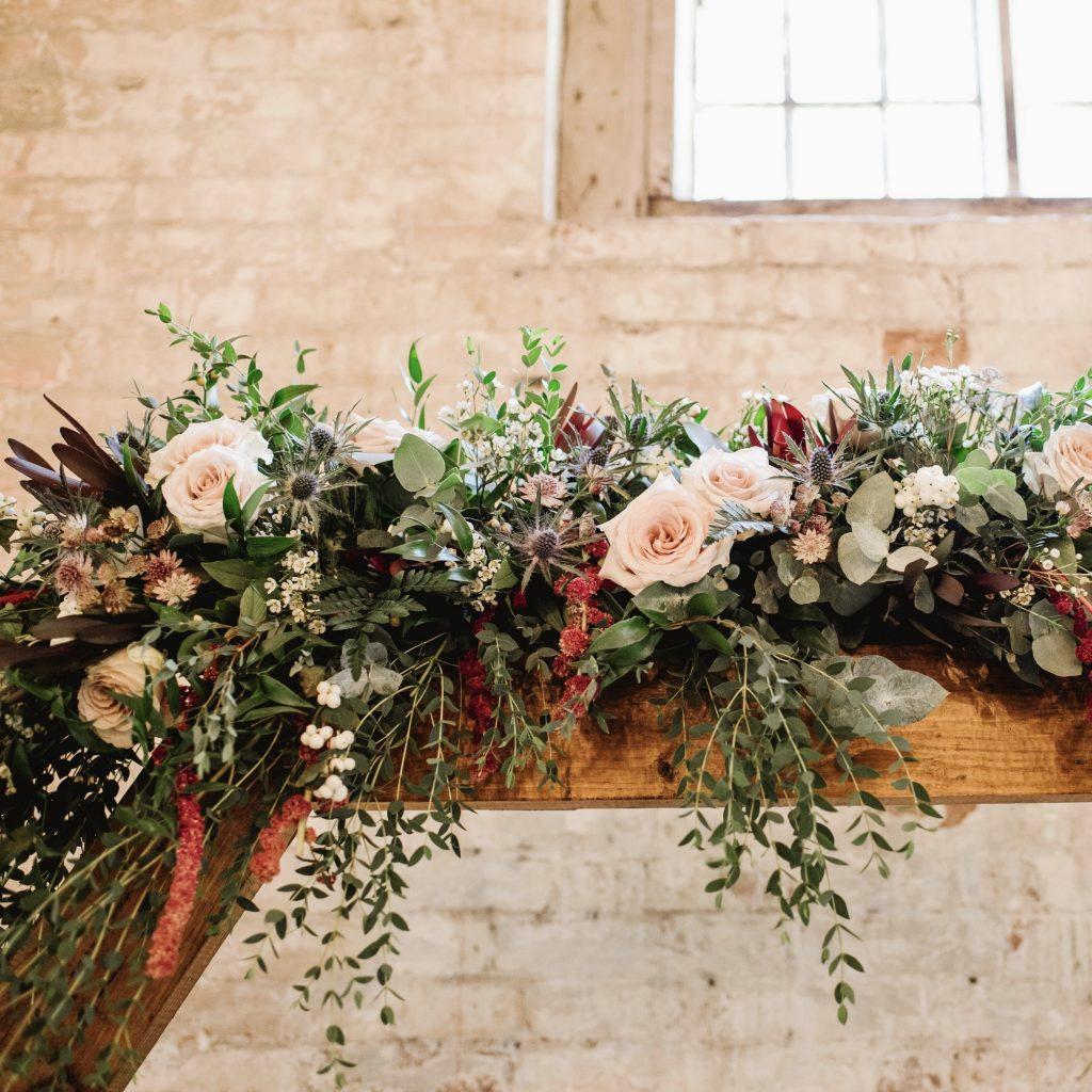 Wedding Flowers Calke Abbey