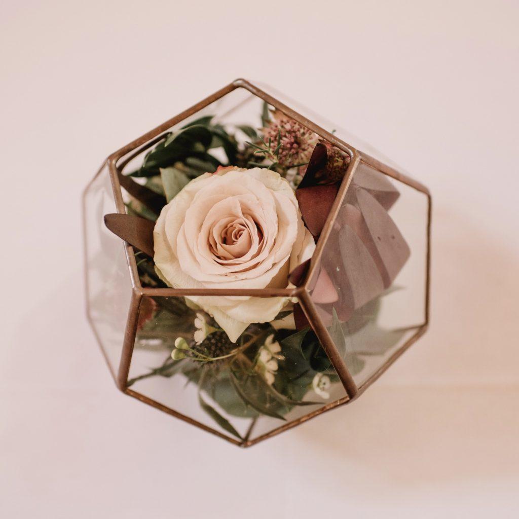 Flower centrepieces derby