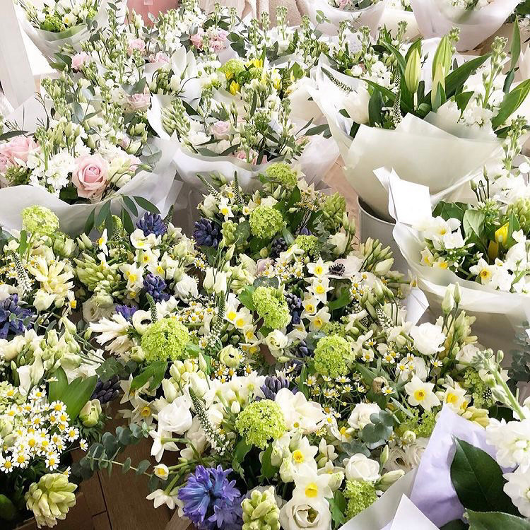 Mothers Day bouquets derby